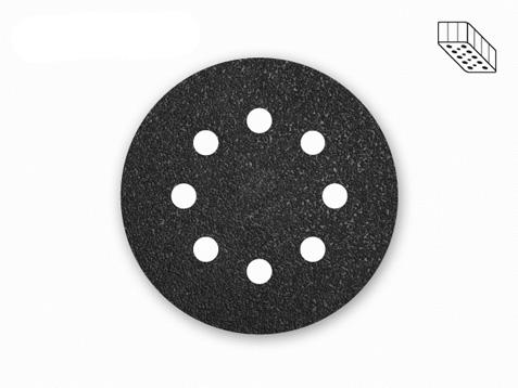 25 menzer schleifscheiben f exenterschleifer 125 mm k24 36 8 loch ebay. Black Bedroom Furniture Sets. Home Design Ideas